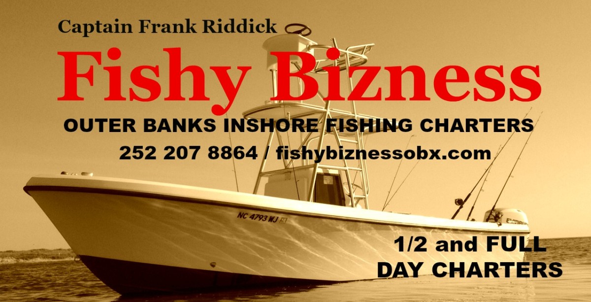 Outer banks fishing charters fishy bizness obx for Outer banks fishing charters