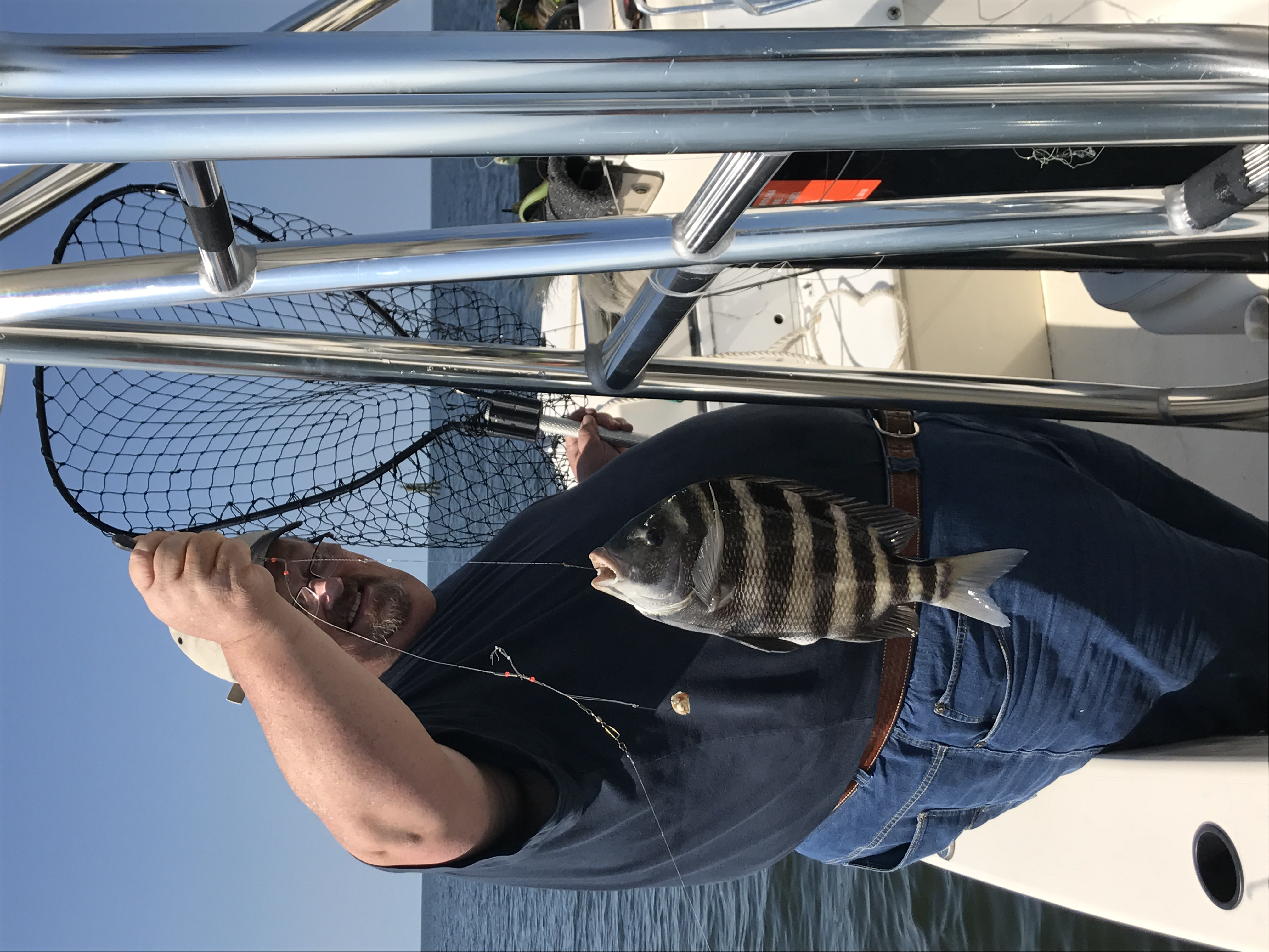 This is a great Time of year for sheepshead fishing just have to have the right bait