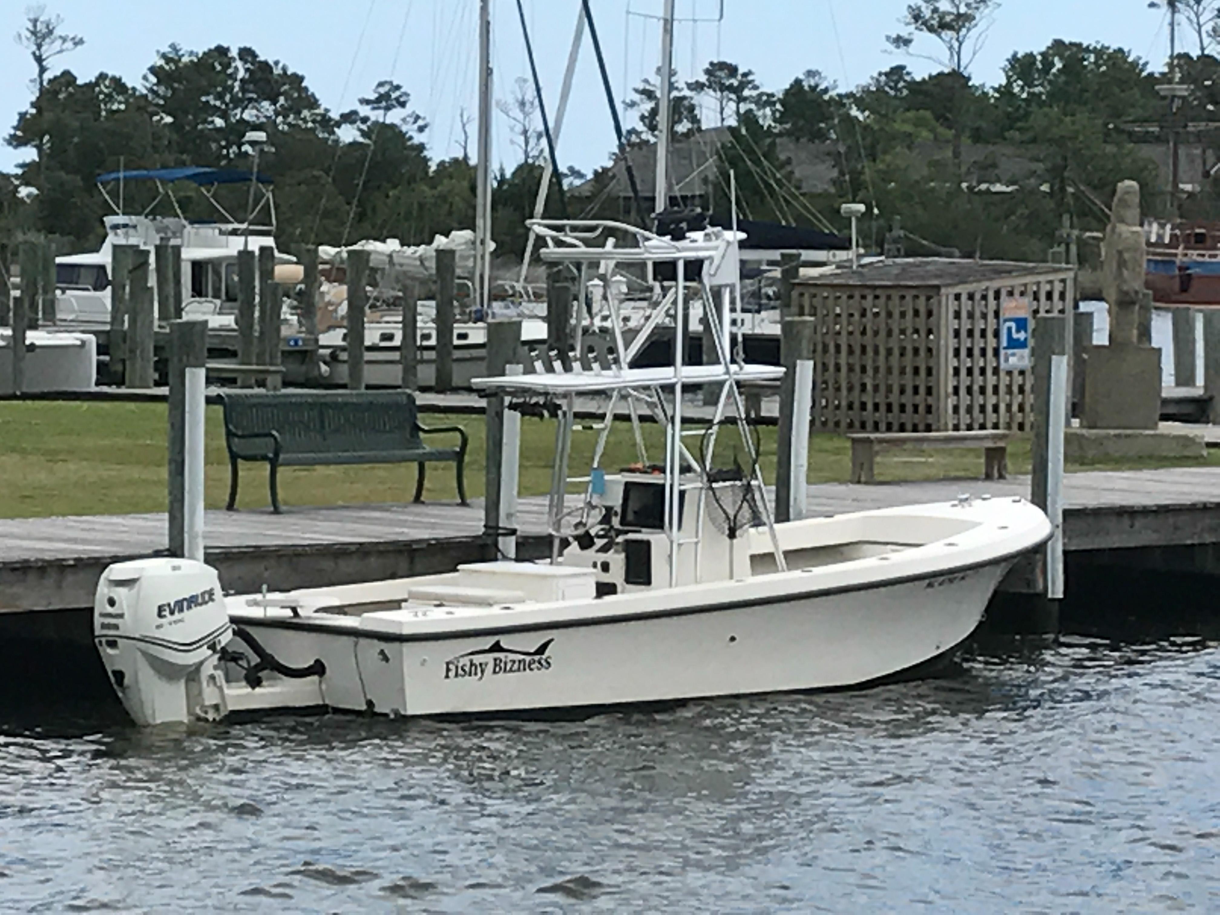 The Fishy Bizness a 23 FT Carolina Built